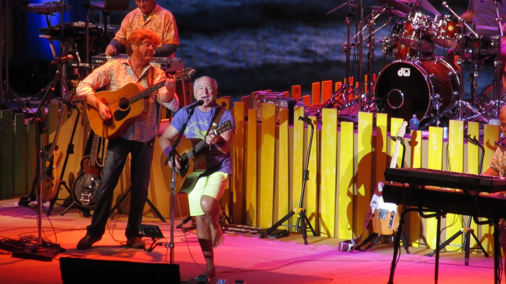 Jimmy Buffett & The Coral Reefer Band perform at Berkeley's Greek Theater 10/23/14